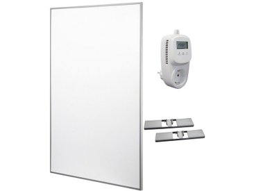 RÖMER Infrarot Heizsysteme Infrarotheizung Aluminium, 600 W, 60x90 cm, weiß, weiß
