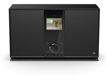 Hama Internetradio Digitalradio DIR3605MSBT mit 2.1 Soundsystem »WLAN/Multiroom/Bluetooth/DAB«, schwarz, Schwarz