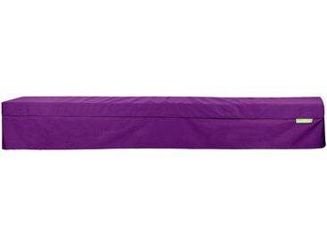 OUTBAG Auflage »Bench PLUS«, wetterfest, für den Außenbereich B/L: 25/220 cm, lila, 1 Auflage, lila