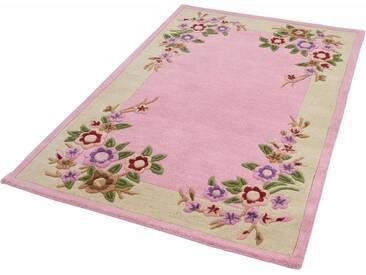 THEKO Teppich »Lifou 8158«, rechteckig, Höhe 14 mm, rosa, 14 mm, pink