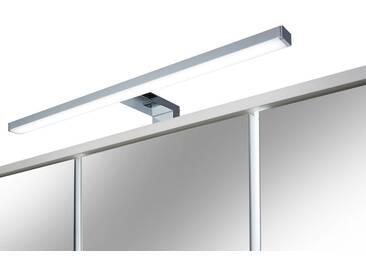 FACKELMANN LED-Aufsatzleuchte, Breite 50 cm, silberfarben, silberfarben