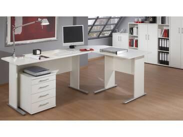 VCM Schreibtisch Omegos, weiß, 140, Weiß