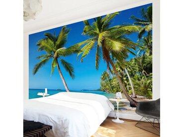 Bilderwelten Vliestapete Premium Breit »Beach of Thailand«, blau, 190x288 cm, Blau
