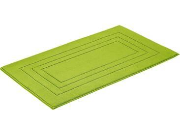 Vossen Badematte »Feeling« , Höhe 10 mm, fußbodenheizungsgeeignet, grün, 10 mm, meadowgreen