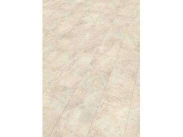 EGGER Designboden »HOME Design Stein weiss«, 1295 x 243 mm, Stärke: 5 mm, weiß, weiß