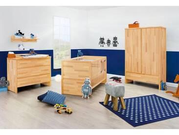 Pinolino® Pinolino Babyzimmer Set »Fagus« breit (3-tlg.), natur, buche vollmassiv, geölt