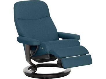Stressless® Relaxsessel »Garda« mit Classic Base und LegComfort™, Größe M, mit Schlaffunktion, grün, Fuß wengefarben, petrol