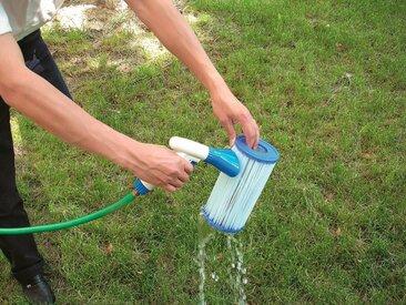 Bestway BESTWAY Ersatzfilterkartusche »Flowclear™«, 2 Stk. Größe 1, ØxH 8,0x9,0 cm, blau, 8,0 cm, blau