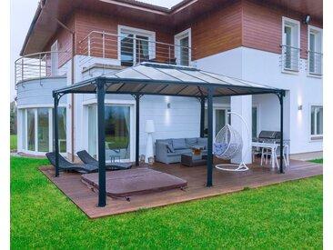Palram PALRAM Pavillon »Martinique 5000«, BxL: 359x493 cm, grau, 359.3 cm x 493.1 cm, grau