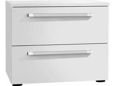 nolte® Möbel Nachttisch»Alegro Basic«, Breite 50 cm, weiß, Weiß Dekor, weiß