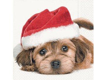 Serviette 'Christmas Dog'