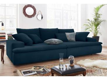Nova Via Big-Sofa, blau, 260 cm, dunkelblau