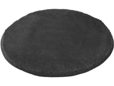 MEUSCH Badematte »Mona« , Höhe 30 mm, rutschhemmend beschichtet, fußbodenheizungsgeeignet, grau, 30 mm, schiefer