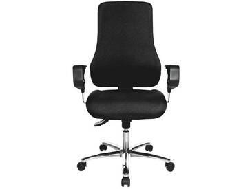 TOPSTAR Bürostuhl mit Armlehnen »Premium«, schwarz, schwarz