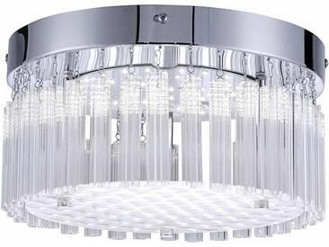 Leuchten Direkt LED Deckenleuchte »LEA«, silberfarben, Ø25 cm, chromfarben