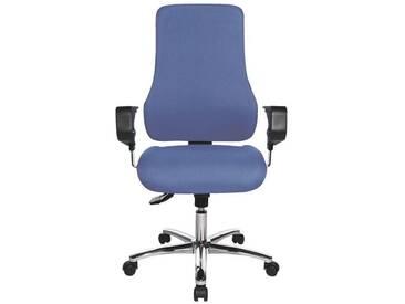 TOPSTAR Bürostuhl mit Armlehnen »Premium«, blau, blau