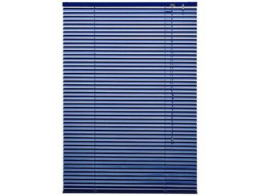 Liedeco Jalousie »Aluminium-Jalousie«, mit Bohren, freihängend, Aluminium, blau, royalblau
