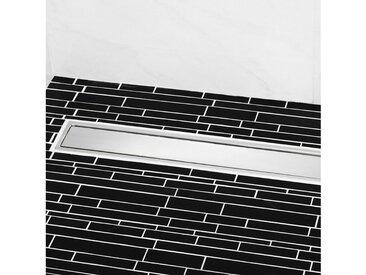 CORNAT Komplett-Set: Duschrinne 75 x 7 cm