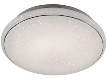 Leuchten Direkt LEUCHTEN DIREKT LED-Deckenleuchte Sternenhimmel-Optik CCT Farbwechsel 80cm »JUPITER«, weiß, weiss