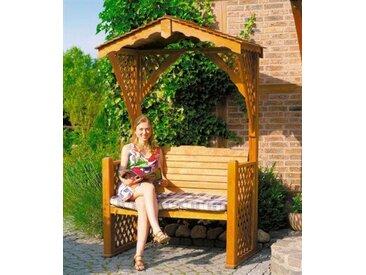 promadino Promadino Gartenlaube, braun, 80 cm x 142 cm x 220 cm, braun