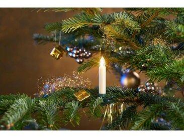 LED-Christbaumkerzen, kabellos, 25 Kerzen inklusive Zubehör für Fenster- und Tischdekoration