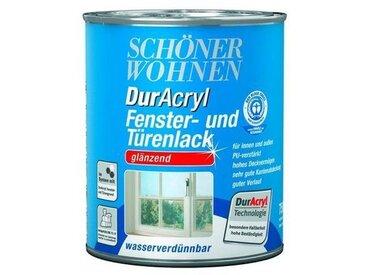 SCHÖNER WOHNEN-Kollektion Schöner Wohnen Farbe DurAcryl Fenster- und Türenlack, glänzend, weiß, weiß