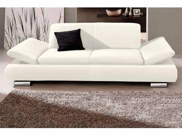 Max Winzer® 2-Sitzer »Toulouse«, mit klappbaren Armlehnen, Breite 190 cm, weiß, 190 cm, weiß