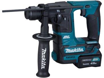 Makita MAKITA Akku-Bohrhammer »HR166DSAE1 / HR166DSMJ«, 10,8 V, SDS+, inkl. Akkus und Ladegerät, blau, 4 Ah, 2 Akkus, blau