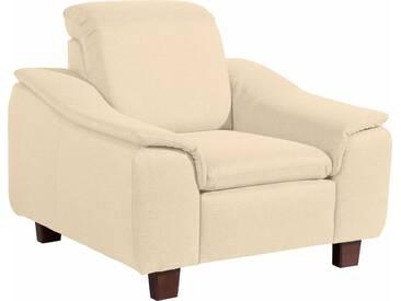 Max Winzer® Sessel »Alessio« mit abgerundeter Rückenlehne, natur, beige
