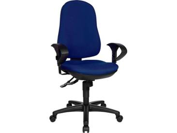 TOPSTAR Bürostuhl »Support SY«, blau, blau