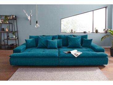 Nova Via Big-Sofa, grün, 300 cm, petrol