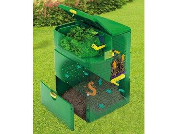 Juwel JUWEL Thermo-Komposter »Aeroplus 6000«, BxTxH: 79x79x110 cm, 600 Liter, mit 3-Kammer-System