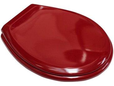ADOB WC-Sitz »Iseo manhattan«, passend auf alle Standard WCs, rot