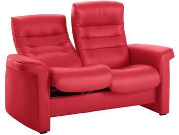 Stressless® 2-Sitzer Sofa High »Sapphire«, in Kinosessel-Optik, rot, chilli red