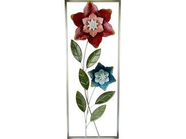 Wandobjekt »Deko-Wandbild Blumen«, rosa, rosa