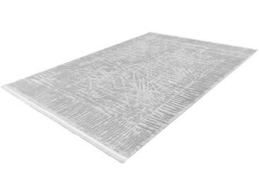 LALEE Teppich »Noblesse 903«, rechteckig, Höhe 12 mm, silberfarben, 12 mm, silberfarben