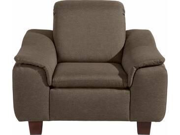 Max Winzer® Sessel »Alessio« mit abgerundeter Rückenlehne, natur, sahara
