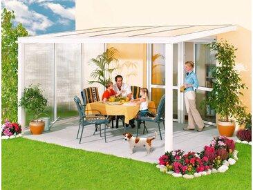 Beckmann BECKMANN Terrassendach »Exklusiv 1«, BxT: 307x271 cm, mit Regenrinne, weiß, einbrennlackiert, 271 cm, weiß