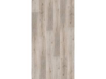 PARADOR Packung: Vinylboden »Basic 30 - Schlossdiele Eiche grau geweißt«, 2201 x 216 x 8,4 mm, 2,4 m², grau, grau