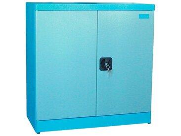 Güde GÜDE Schrank »Werkzeugschrank TYP B1«, (B/T/H): ca. 78/38/80 cm, blau, blau/grau