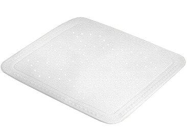Kleine Wolke KLEINE WOLKE Duscheinlage »Arosa«, BxH: 55 x 55 cm, weiß, weiß