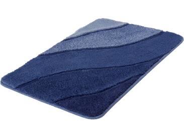 Kleine Wolke Badematte »Serenade« , Höhe 20 mm, rutschhemmend beschichtet, fußbodenheizungsgeeignet, blau, 20 mm, iceblue