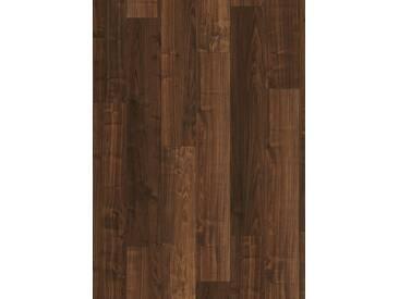 PARADOR Laminat »Basic 200 - Walnuss«, 1285 x 194 mm, Stärke: 7 mm, braun, braun