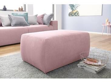 INOSIGN Hocker »Gina« passend zu den Polstermöbeln, orange, flamingo