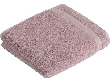 Vossen Handtücher »Scala«, mit Bordüre, rosa, perlmutt