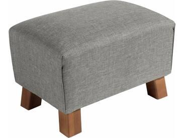 Max Winzer® Hocker »Footstool« unifarben, grau, hellgrau