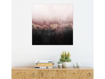 Posterlounge Wandbild - Elisabeth Fredriksson »Pink Sky«, bunt, Holzbild, 70 x 70 cm, bunt