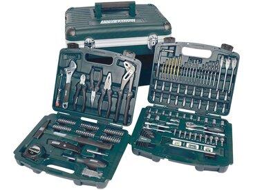 Brüder Mannesmann Werkzeuge Brueder Mannesmann Werkzeuge Werkzeugbox »163-tlg.«, grün, grün
