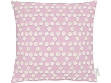 Tom Tailor Kissenhüllen »Dots«, rosa, Polyester-Baumwolle, rosa-beige