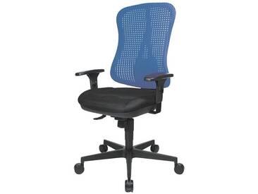 TOPSTAR Bürostuhl ohne Armlehnen »Headpoint SY«, blau, blau